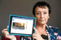 Clairvoyant Maureen Smith from Fyvie who has been impersonated by a scammer on Facebook.