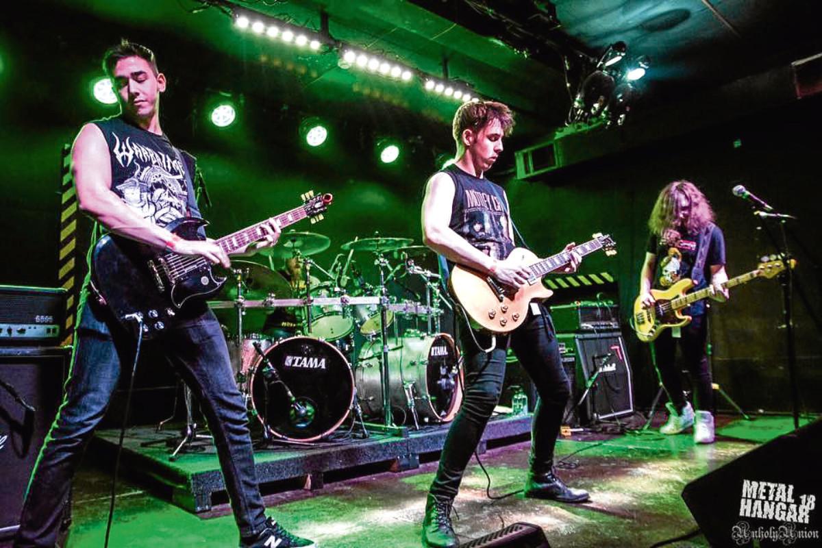 Aberdeen-based Hellripper will headline the Full Metal Haggis festival
