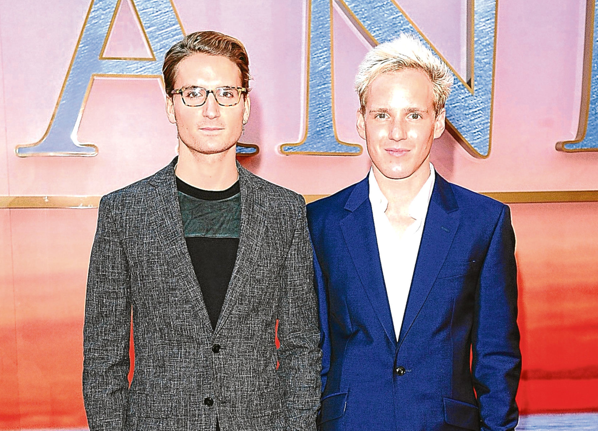 Jamie Laing, right, with Made in Chelsea co-star Ollie Proudlock