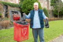 Caption (description) CR0000478 ,Montrose councillor's frustration over CCTV, Picture shows, Councillor Tommy Stewart, 7th April 2018