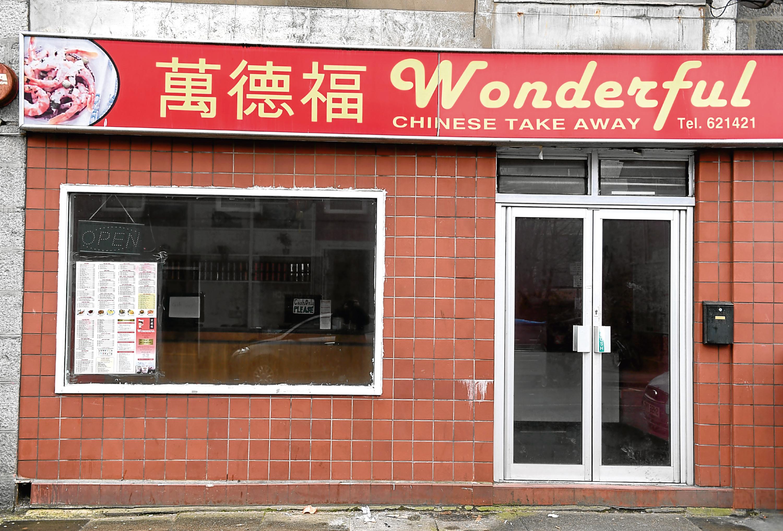 Wonderful Chinese Take Away on George Street, Aberdeen.