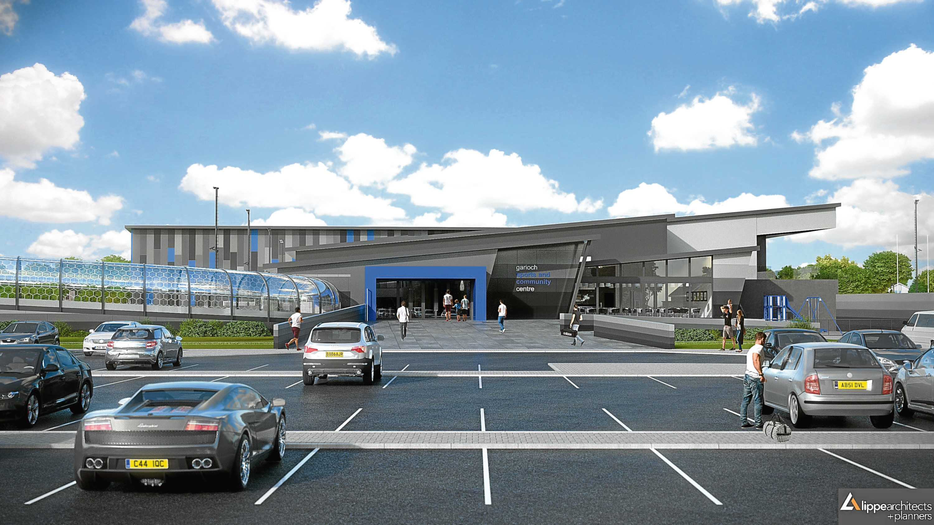 How the sports centre could look