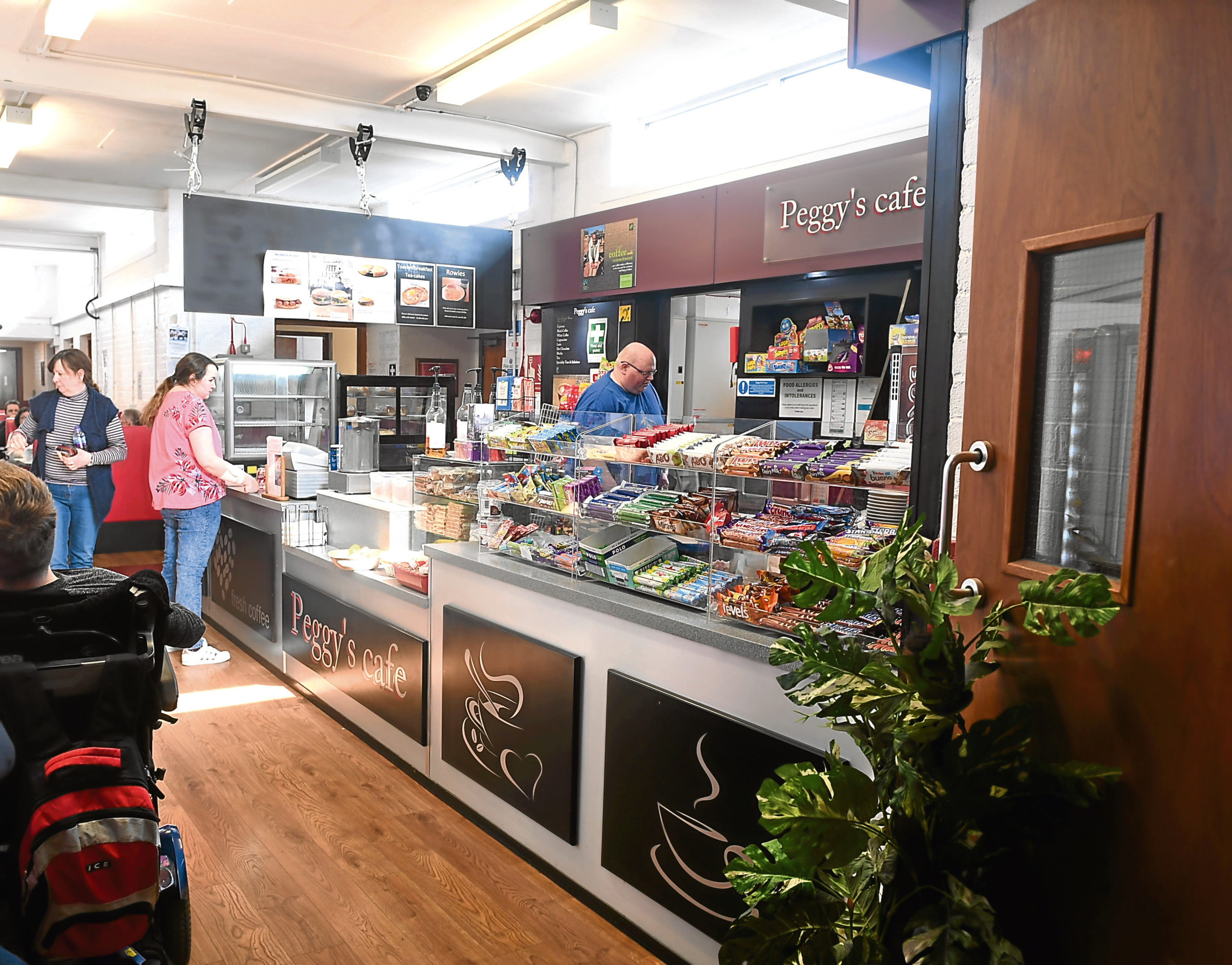 Peggy's Cafe in Inchgarth Community Centre is marking its fifth anniversary.