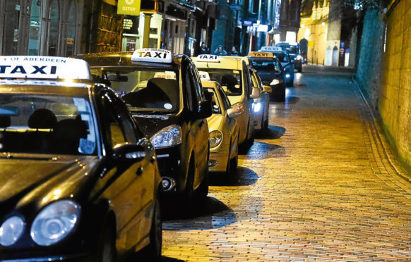 An increase in taxi fares is to be discussed.