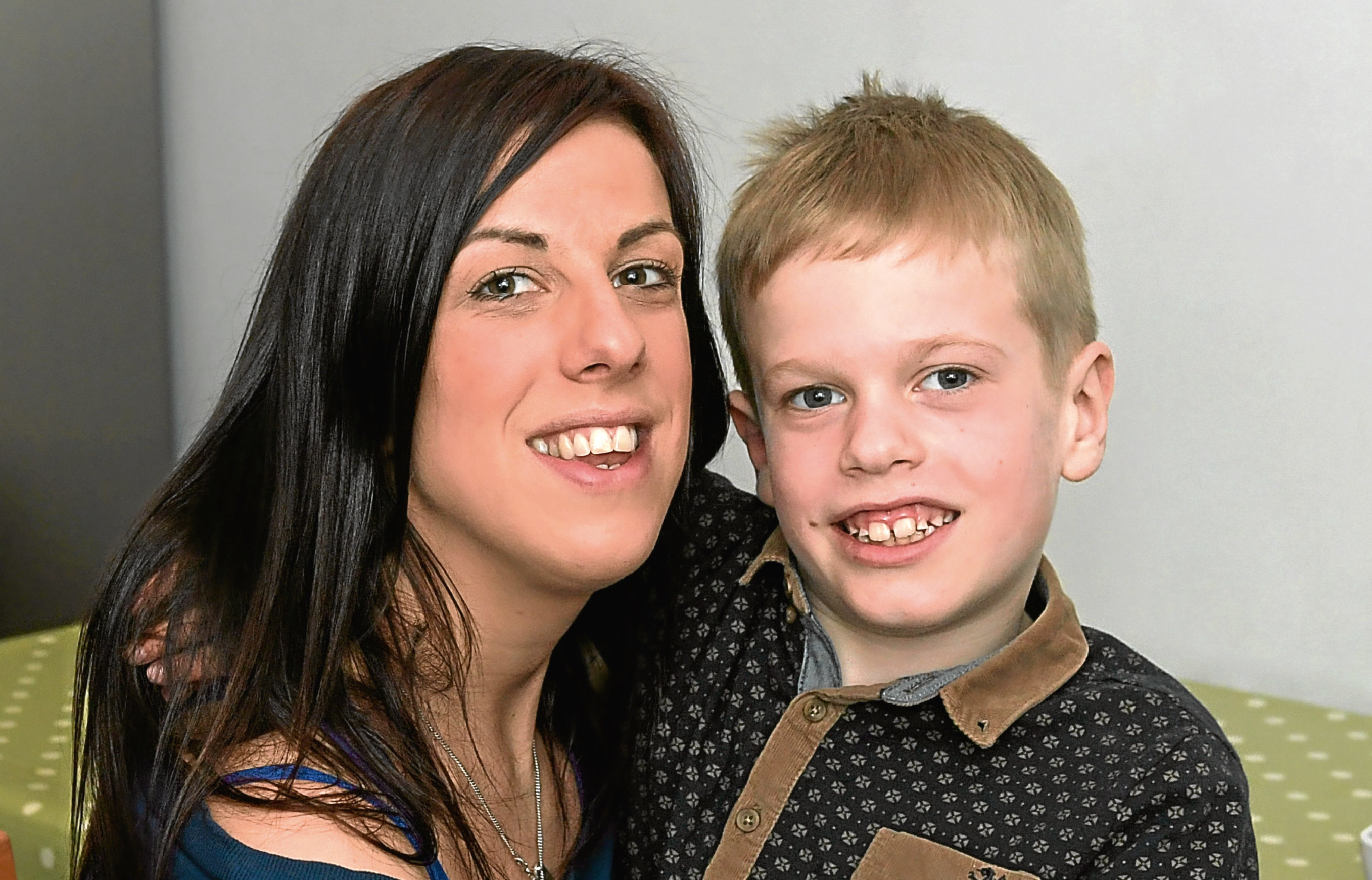 Amy is taking on a number of challenges to raise money for Connor.