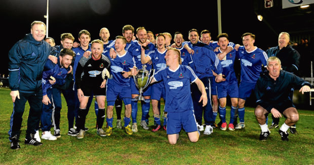 Cove Rangers have won the Highland League Trophy.