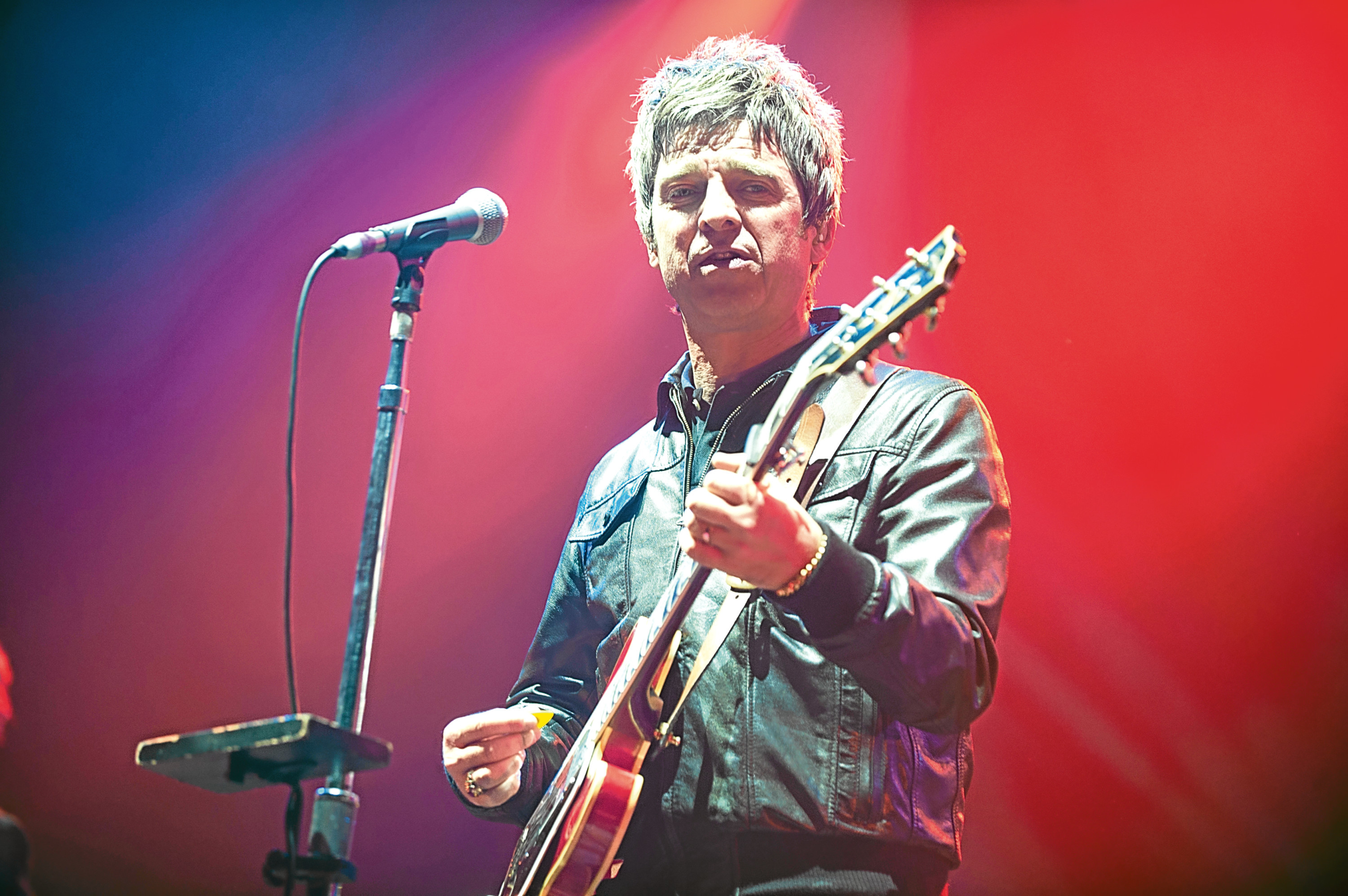 Noel Gallagher's High Flying Birds perform at the AECC.