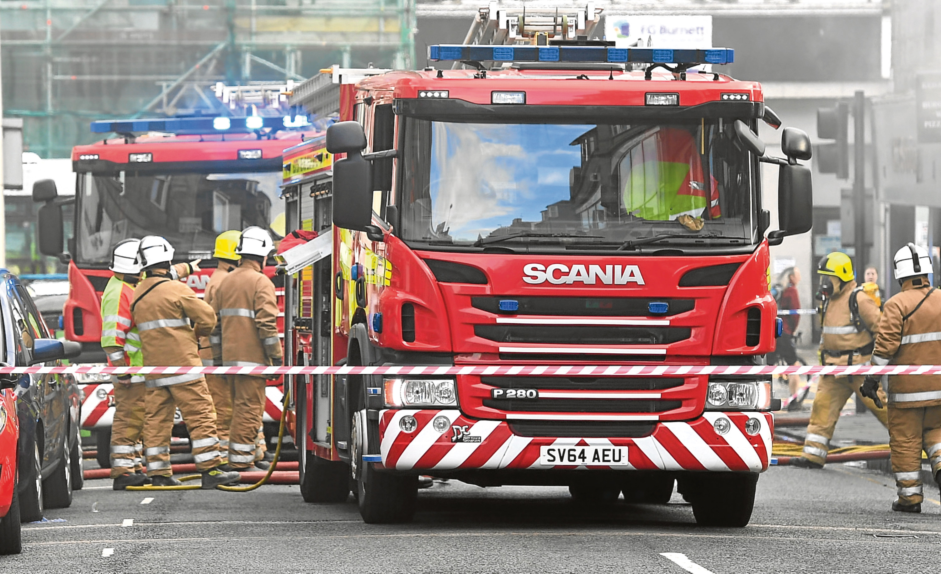 The lack of available fire crews could put the city at risk, it has been claimed.