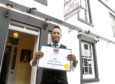 Mohammed Miah the manager of the Alma Indian Restaurant and Bar in Laurencekirk who have been named Restaurant of the Year North Scotland at the Scottish Curry Awards.