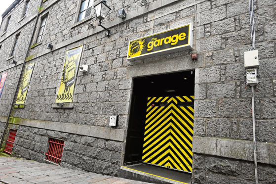 The Garage, on Windmill Brae in Aberdeen, will be hosting its final night on May 6.