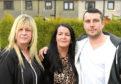 From left, Caroline Munro, Arlene Chisholm and Lee McAllister.