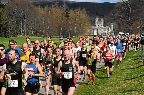 Run Balmoral 2018. Picture by Kenny Elrick.