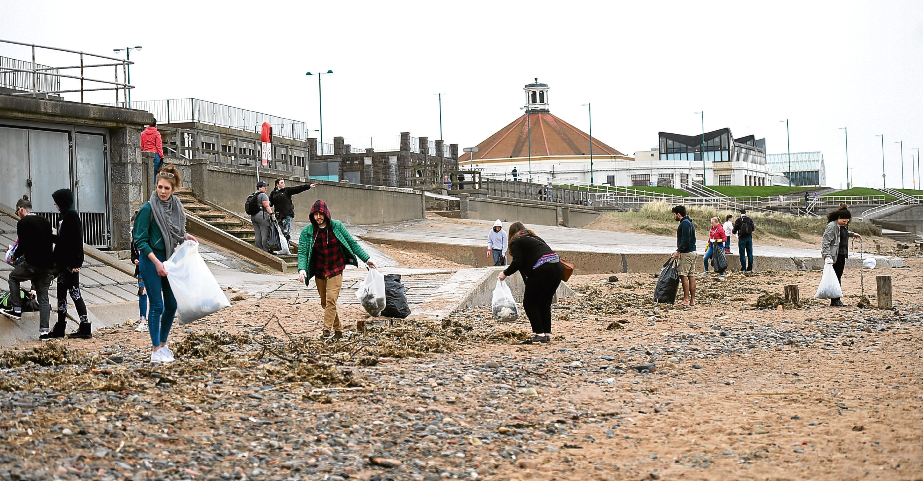 A number of beach cleans have been carried out in Aberdeen over the past few months.