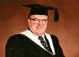 Joseph Treasurer when he graduated from Aberdeen University