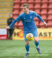 Bruce Anderson in action for Aberdeen U20s.