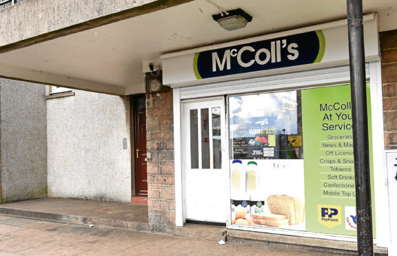 The RS McColl's on North Balnagash Road in Torry.