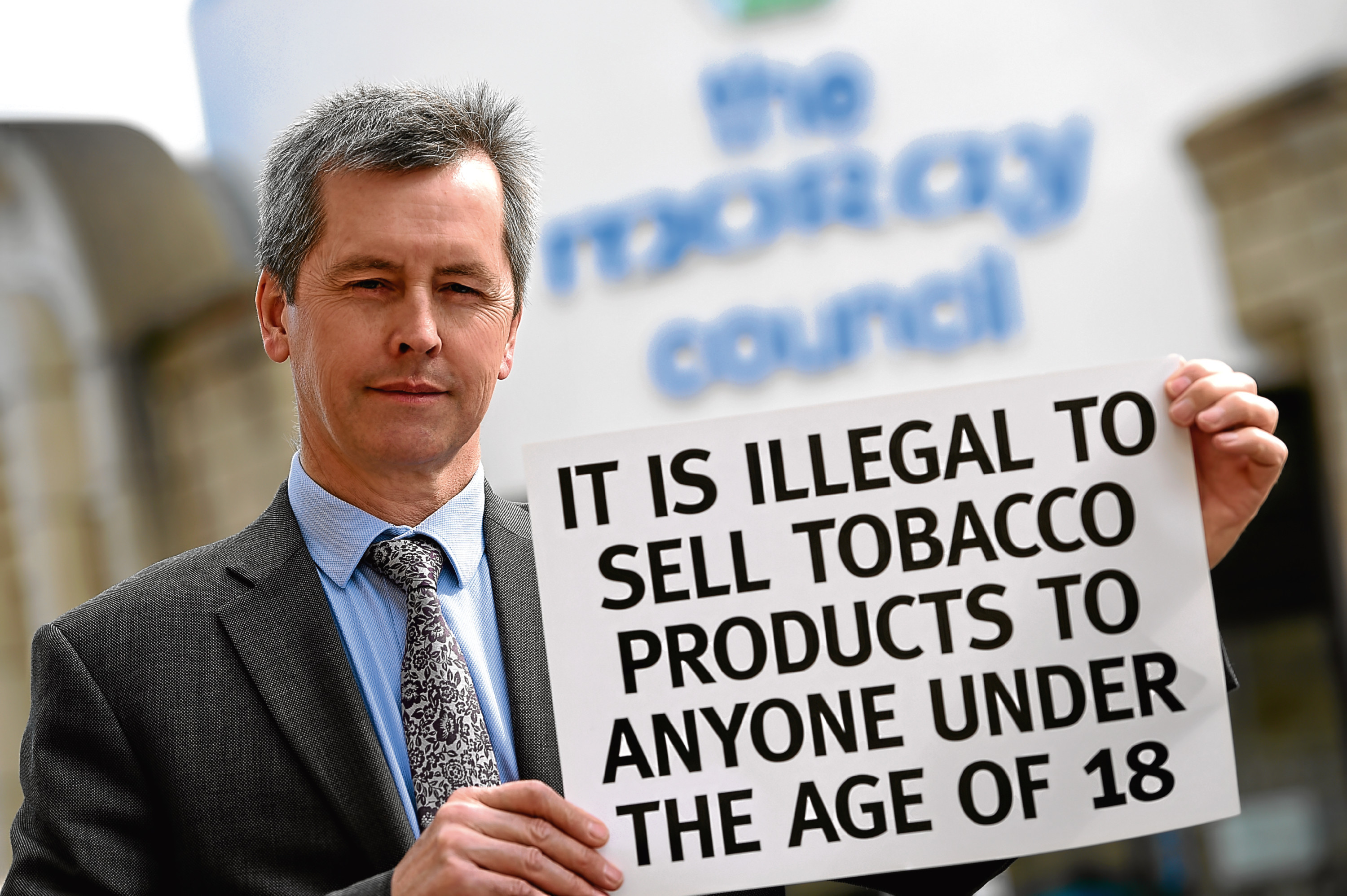 Manager of Trading Standards at Moray Council, Peter Adamson.