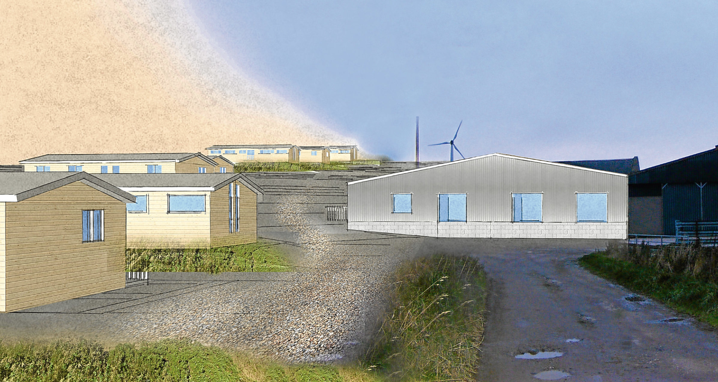 An artist's impression of the proposed rehabilitation centre