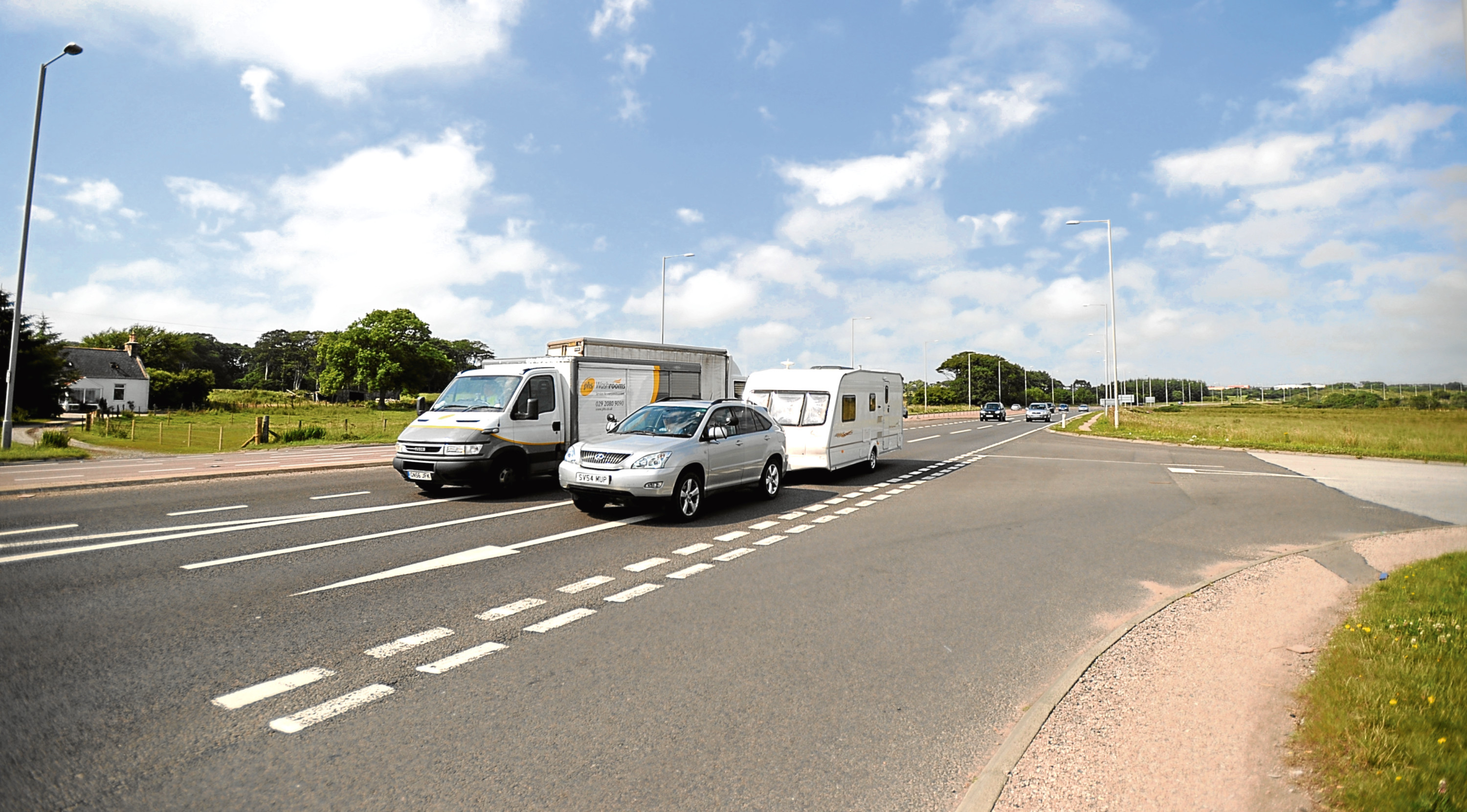 Police Scotland is to carry out patrols in areas of Portlethen after reports of speeding