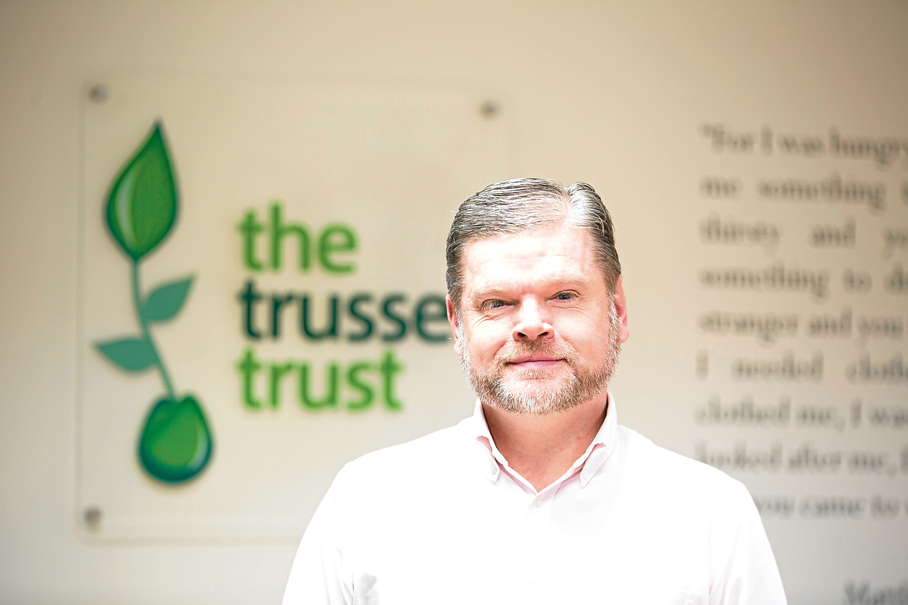 Tony Graham, director of Scotland at The Trussell Trust