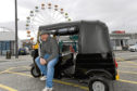Robert Carmichael is opening a tuk tuk taxi company in Aberdeen.