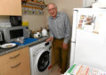 Colin won £250 on the bingo, which has been put towards his new washing machine.