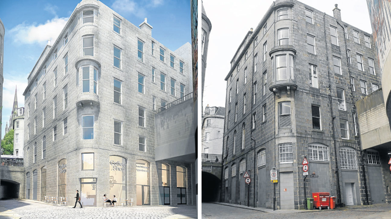 Plans have been lodged for 101 Union Street