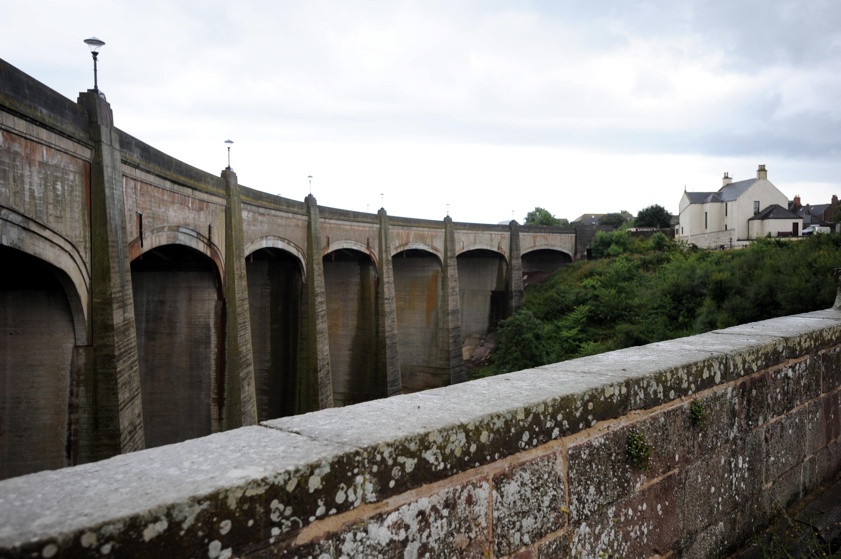 Inverbervie Bridge.