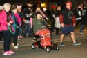 Participants in the Night Walk last year.