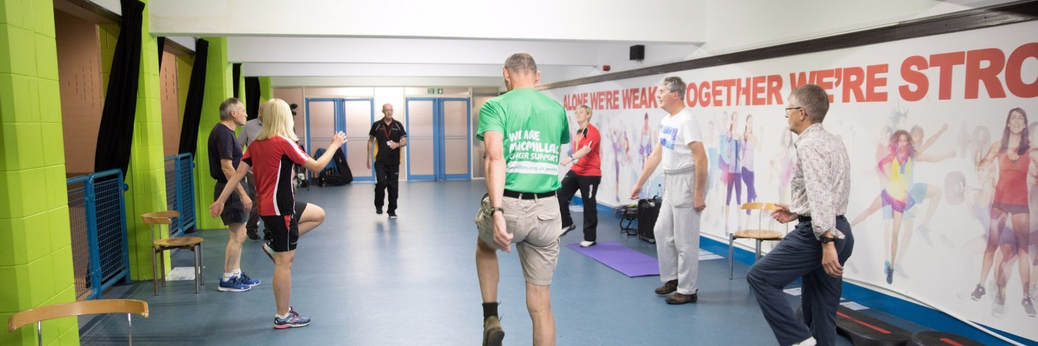 The new programme will help north-east cancer patients stay active.