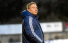 Pictured is Peterhead manager, Jim McInally. Picture by HEATHER FOWLIE