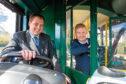 Mark Whitelocks and Councillor Ross Grant