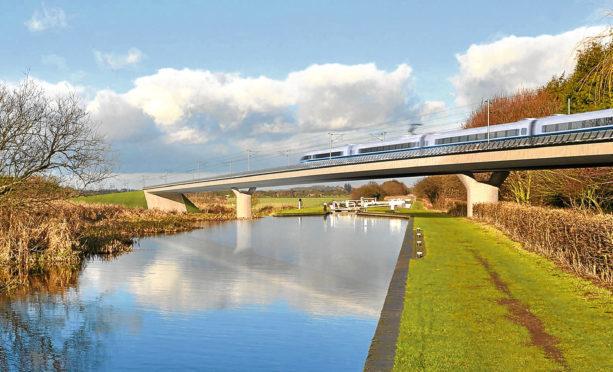 The HS2 high-speed rail scheme