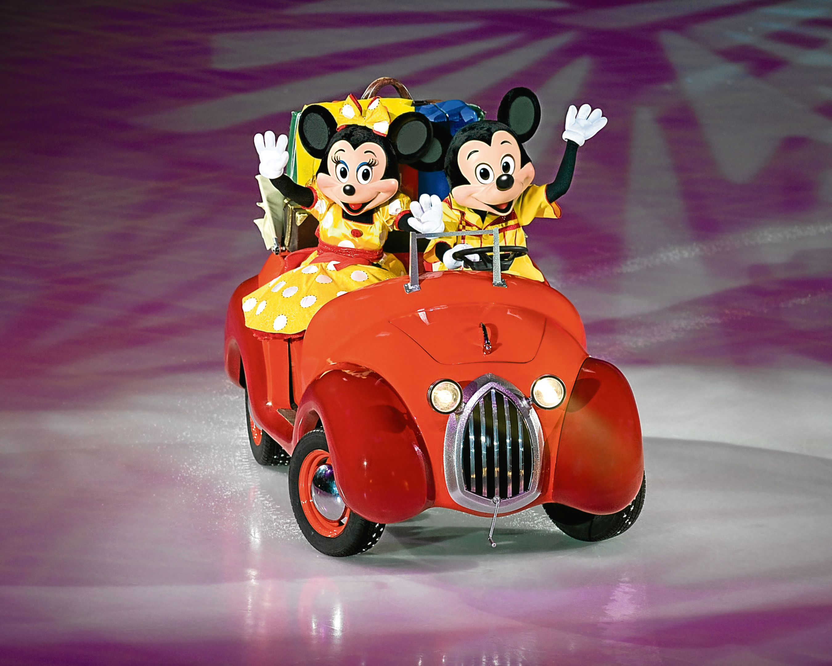 Fan favourites Micky and Minnie Mouse