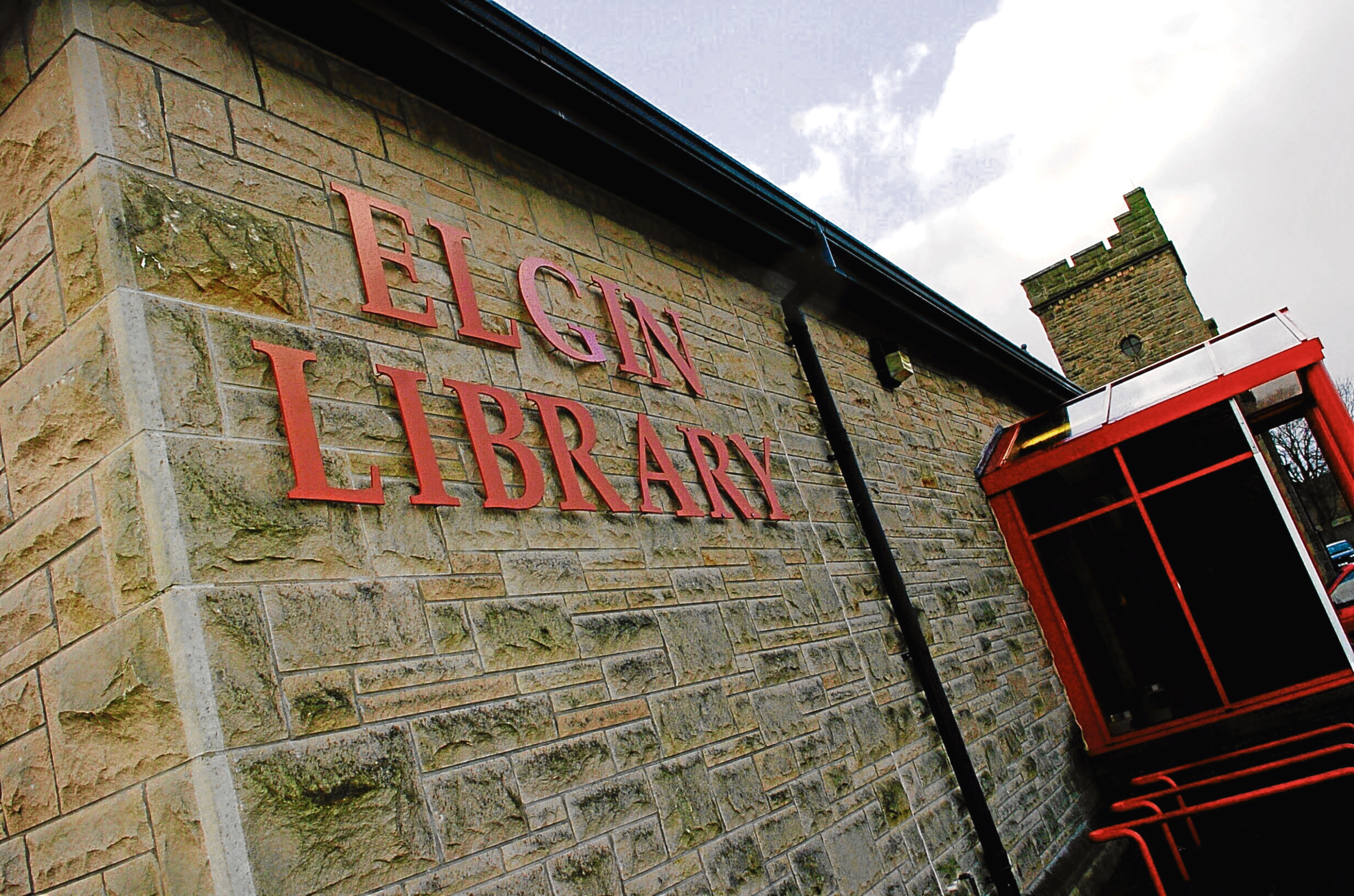 The talk will take place at Elgin Lbrary
