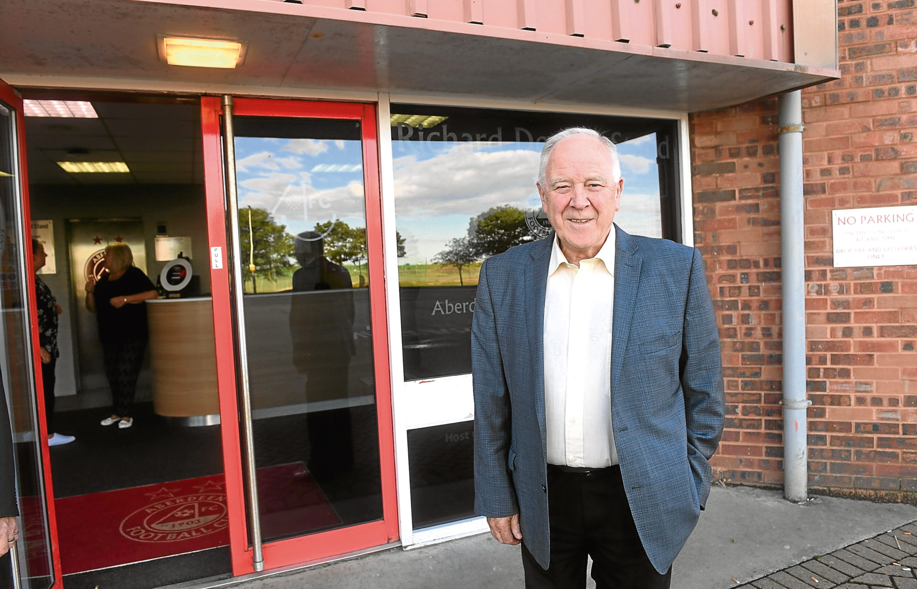 Craig Brown is backing calls for a 3G pitch at Portlethen Academy