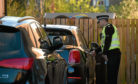 Officers found a quarter of cars they tried in Aberdeen and Aberdeenshire were left unlocked