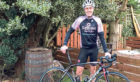Colin Sim is set to face the cycle distillery tour challenge.