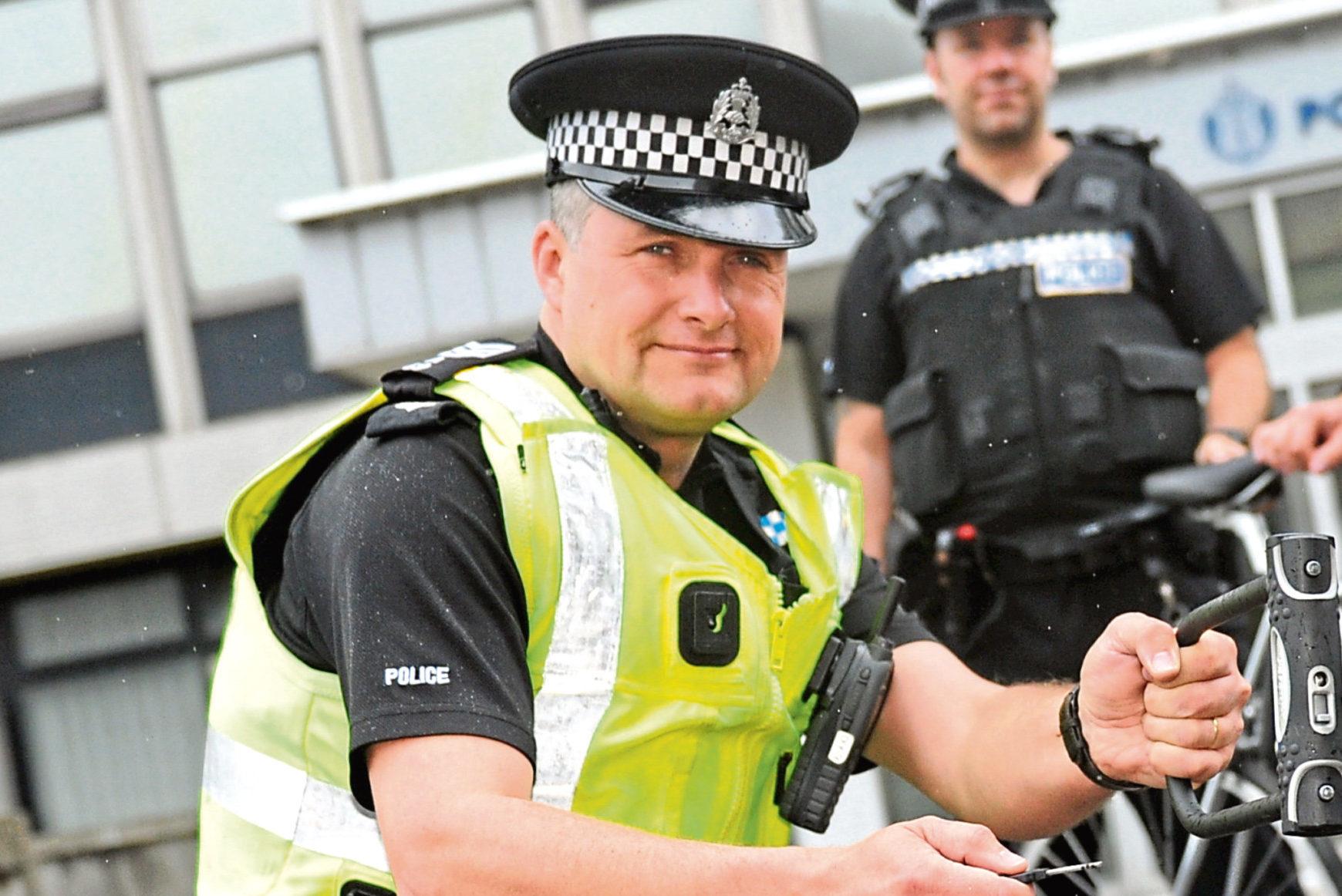 Sergeant Simon Lewis-Dalby