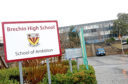 Brechin High School.