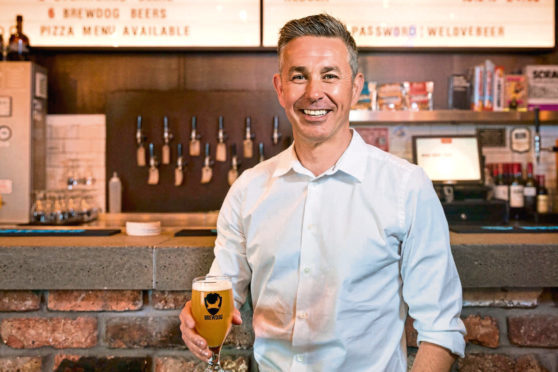 The newly-appointed chief financial officer at Brewdog, Jason Marshall