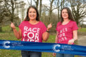 Kate Ralph is backing Race For Life in Aberdeen in memory of her mum who died last year from cancer.  Kate (left) is pictured with her her best friend Kira who has supported Kate, since Kate lost her mum.