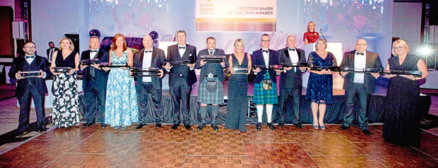The winners at this year's awards.
