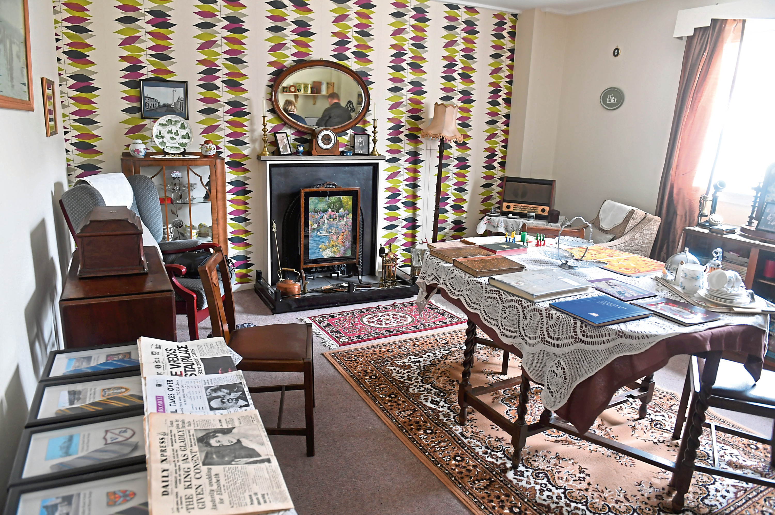 The 1950s heritage room