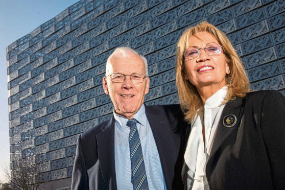 Sir Ian Wood has been named the third wealthiest person in Scotland.