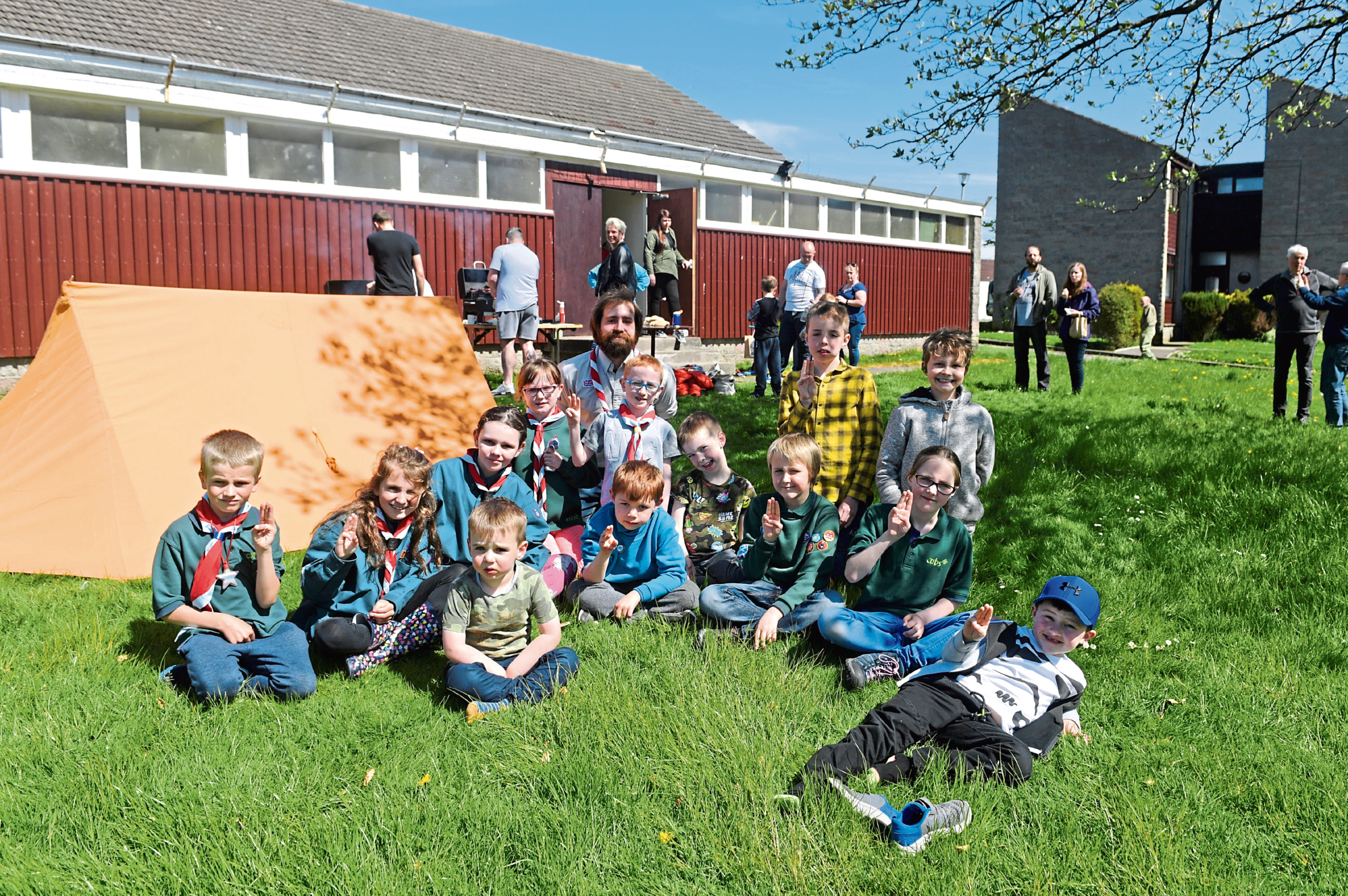 The 55th Kincorth Scouts are raising £55k to upgrade their scout hut.