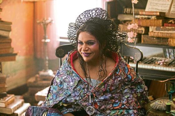 Mindy Kaling as Mrs Who.