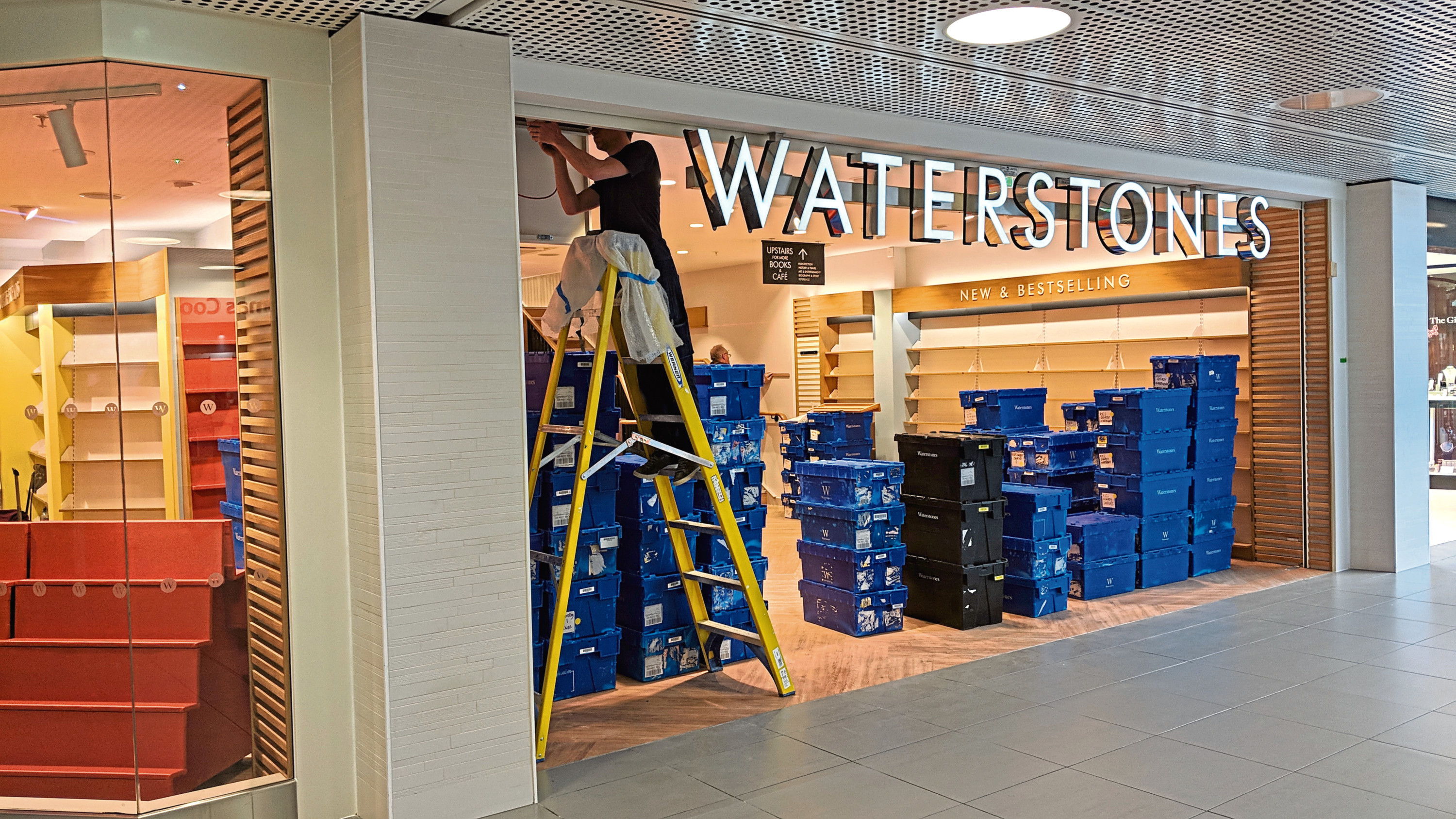 The Waterstones store in the Bon Accord Centre