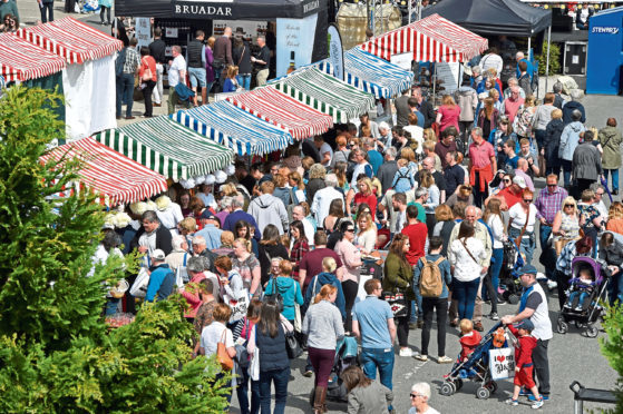 Taste of Grampian 2017, at Thainstone Centre, Inverurie.    Picture by KENNY ELRICK     03/06/2017