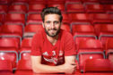 Friday 11th May 2018, Aberdeen, Scotland - Aberdeen Football Club pre match press conference ahead of the Ladbrokes SPFL Premiership match against Celtic on Sunday lunchtime.  Pictured: Graeme Shinnie  (Photo: Ross Johnston/Newsline Media)
